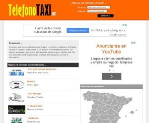 Teléfono taxi